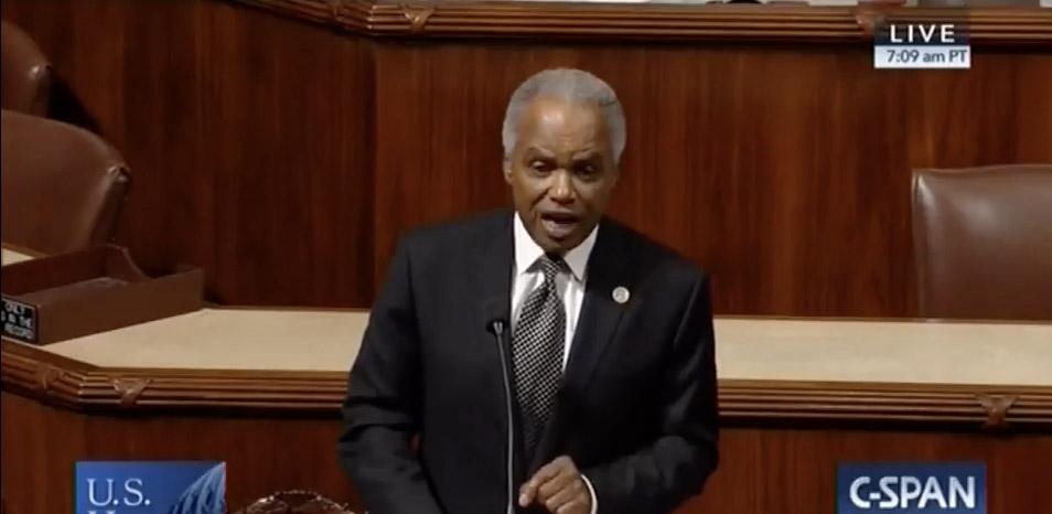 Congressman David Scott Pays Tribute to WSB-TV's Tim McVay